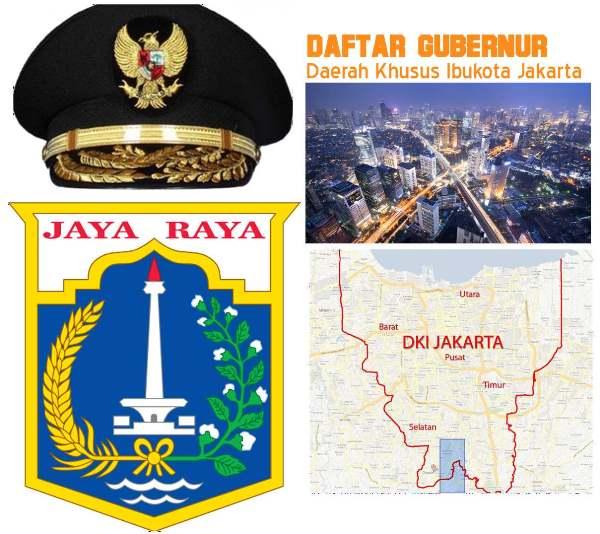 Daftar Gubernur DKI Jakarta