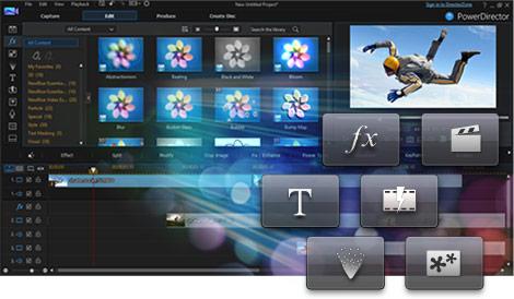 تحميل برنامج PowerDirector لعمل مونتاج الفيديو مجانى برابط مباشر