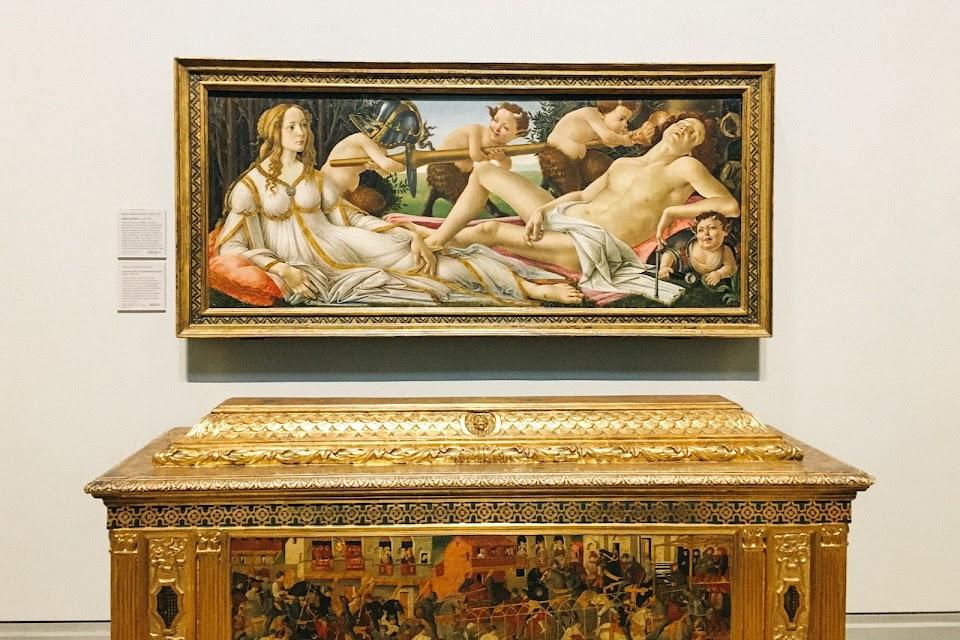 ヴィーナスとマルス(Venus and Mars)1485年頃