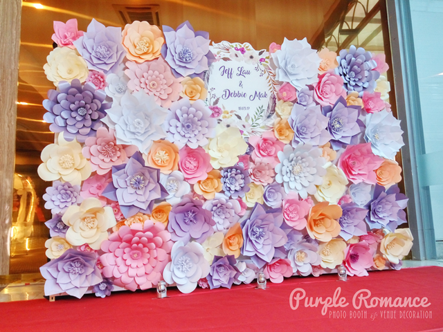 backdrop specialist, setup, event, decoration, unique, special, giant paper flower, colourful, vibrant, floral backdrop, logo, wedding, corporate, birthday, malaysia, KL, PJ, photo booth with instant print