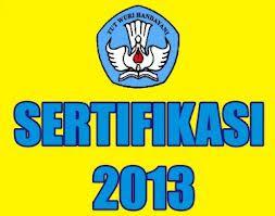 pengumuman sertifikasi guru 2013