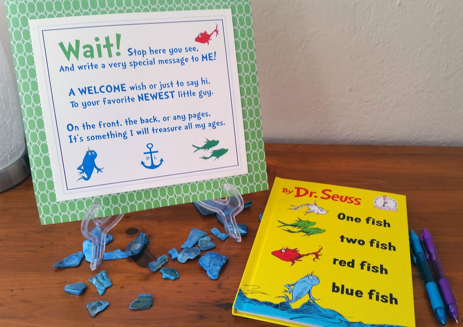 The Blair Project: Boy's Nautical Baby Shower