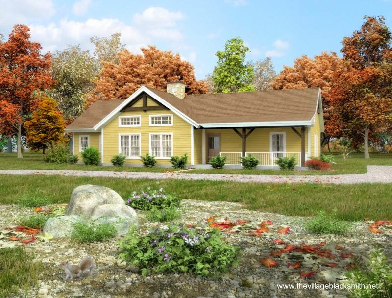Arquitectura de casas 26 ejemplos de casas bonitas for Casa tipo ranch