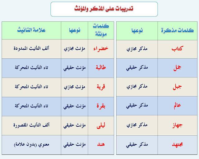 """انفراد.... كل قواعد اللغة العربية لطلاب """"ابتدائي - اعدادي - ثانوي"""" في صورة لوحات مبسطة مع الشرح والتدريبات 13"""