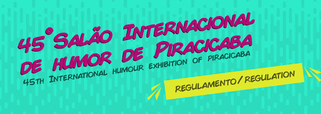 45th lnternational Humor Exhibition of Piracicaba 2018