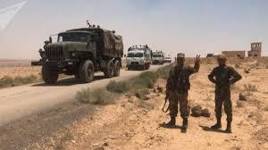 الجيش السورى  يحرر شرق مدينة درعا ويطهرها من الارهابيين
