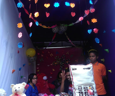 Himagara Bawakan Icon Gawai di Bazar Wisuda Unitri