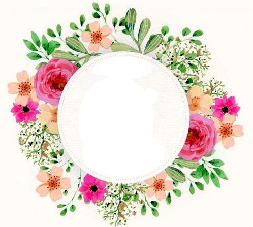 Imprimolandia: Etiquetas con flores para imprimir redondas