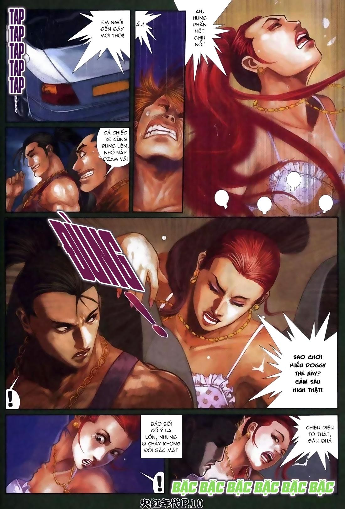 Hỏa Hồng Niên Đại Hắc Cốt Đường Chap 113 - Trang 6