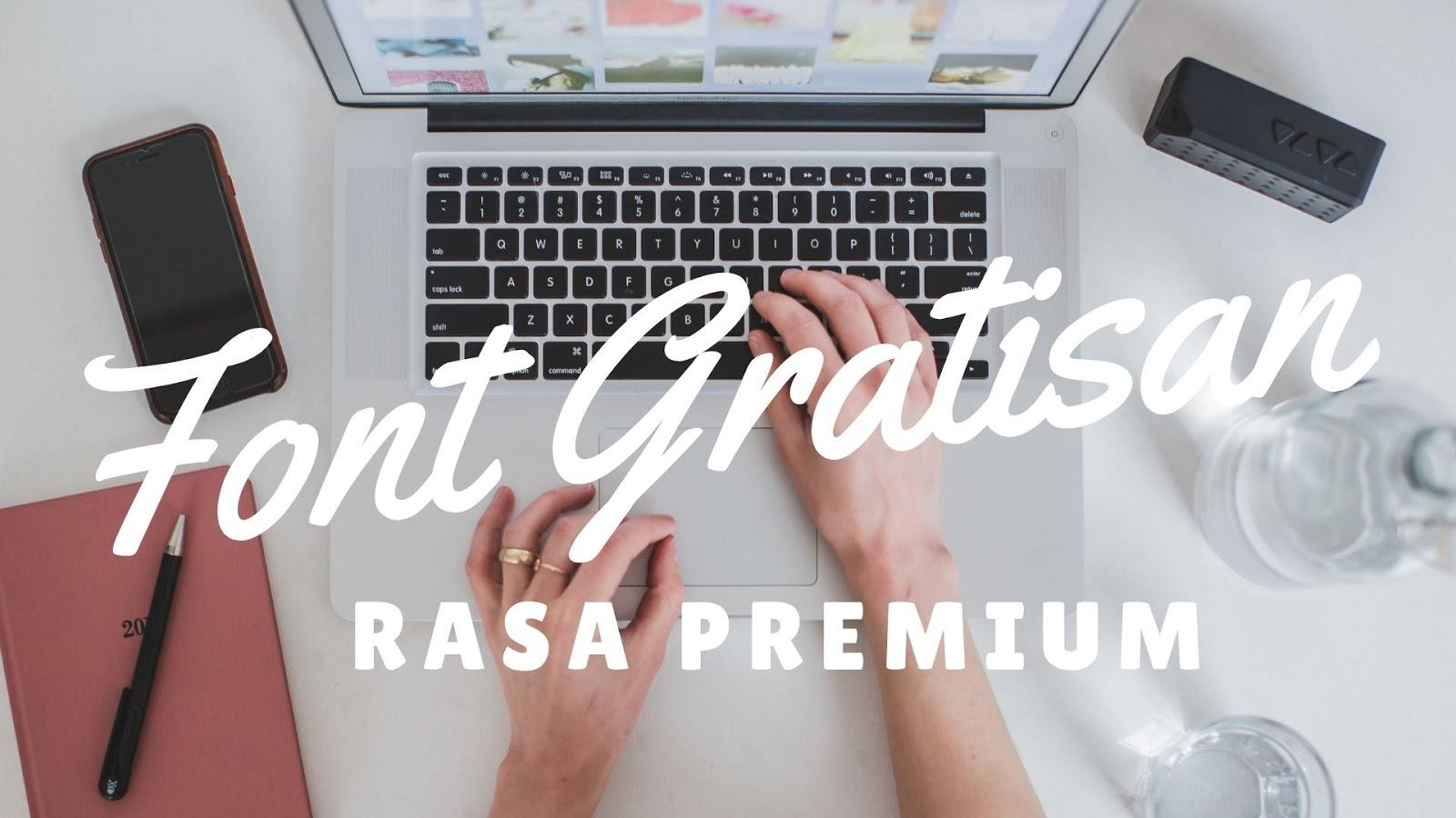 download font gratis untuk blog