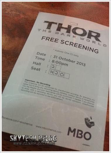 Thor Free Screening