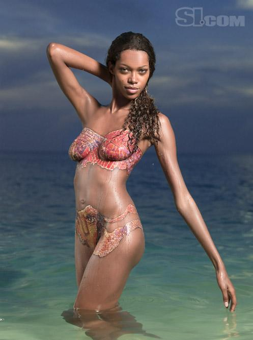 With you jessica white body painting really. join