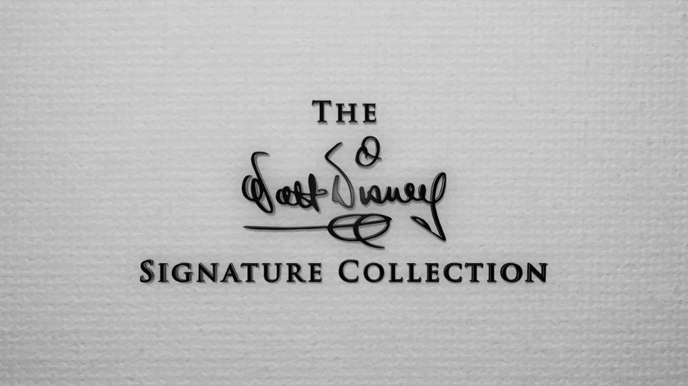 Imaxination\u0027s Video Corner The Walt Disney Signature Collection