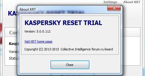 Kaspersky Trial Reset 5.0 Final - KMSPico Final