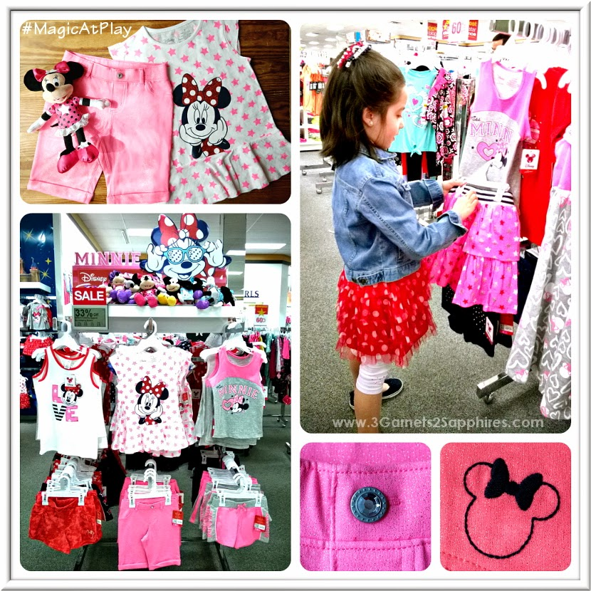 Shopping the new Kohl's Disney Jumping Beans #MagicAtPlay Minnie Mouse Americana Collection