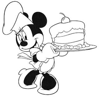 Sketsa Mewarnai Gambar Kartun Mickey Mouse 201620