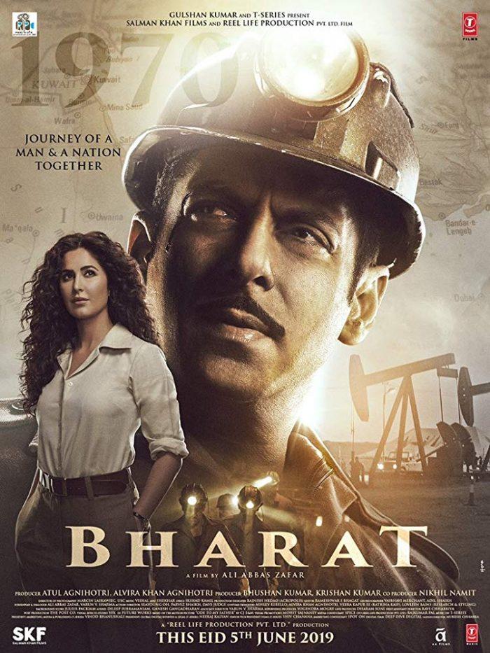 Bharat (2019) Hindi (Audio Clean) NEW 1-3 Pre-DVDRip x264 1.45GB