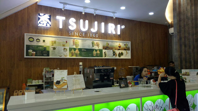 Tsujiri Austin JB menyediakan O-Matcha yang sedap