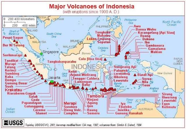 jalur gempa teraktif di dunia