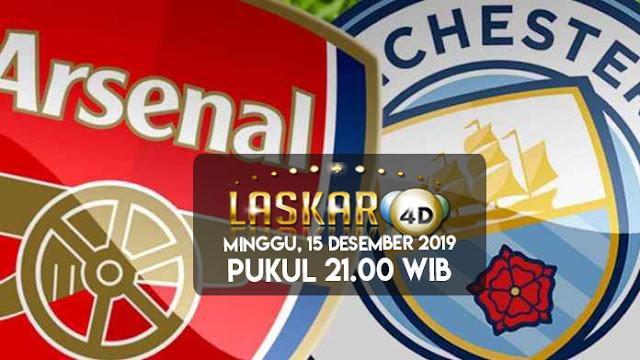 Prediksi Pertandingan Bola Arsenal vs Manchester City 15 Desember 2019