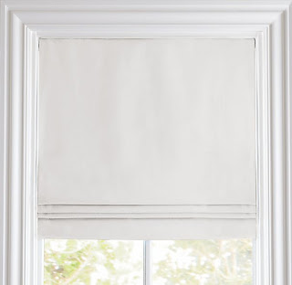 Linen blackout blinds for family movie nights