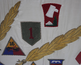 Historic flag preservation, conservation, repair, framing and mounting, textile conservator, Spicer Art Conservation, George Patton Museum of Leadership
