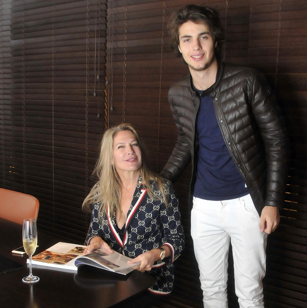 Ana Rusconi visitó el Showroom de Cipriani Punta del Este en un exclusivo Cocktail