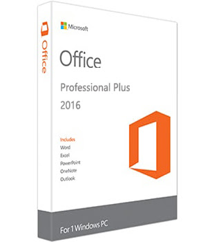 windows office pro 2016 key
