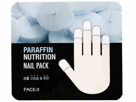 Masker Kuku Korea Terbaik The Face Shop Paraffin Nutrition Nail Pack