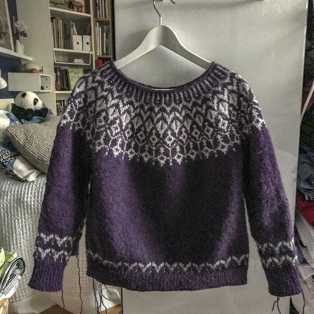 dreyma, lettlopi, stickning, knitting, yokesweater, islandströja
