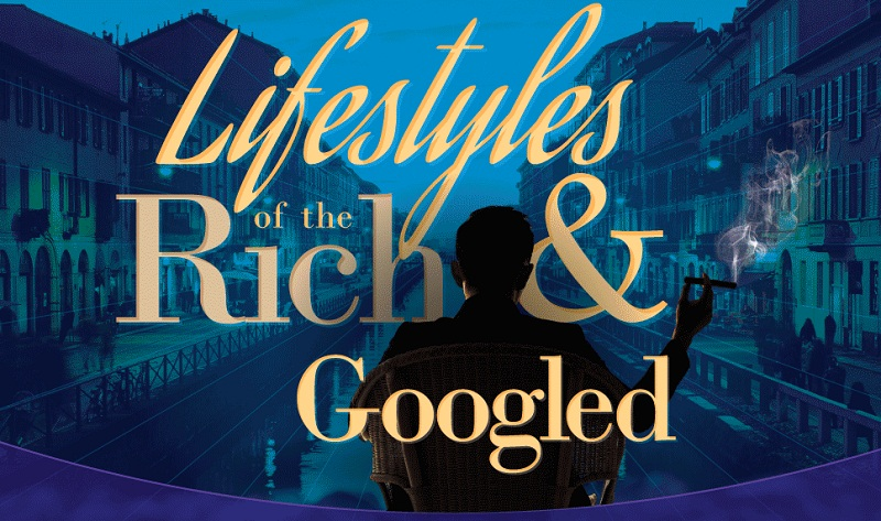 Lifestyles Of The Rich And Googled - #infographic