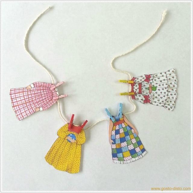 Como fazer um varalzinho decorativo - DIY ou PAP