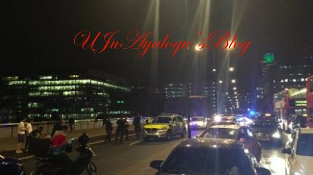 20 injured as van ploughs into pedestrians on London bridge
