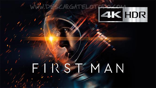 El Primer Hombre en la Luna (2018) IMAX 4K UHD [HDR] Latino-Ingles
