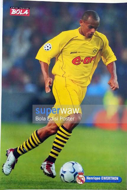Poster Henrique Ewerthon (Borussia Dortmund)