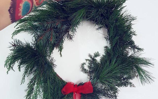 Najpiękniejsze świąteczne wianki - mój subiektywny wybór - CZYTAJ DALEJ