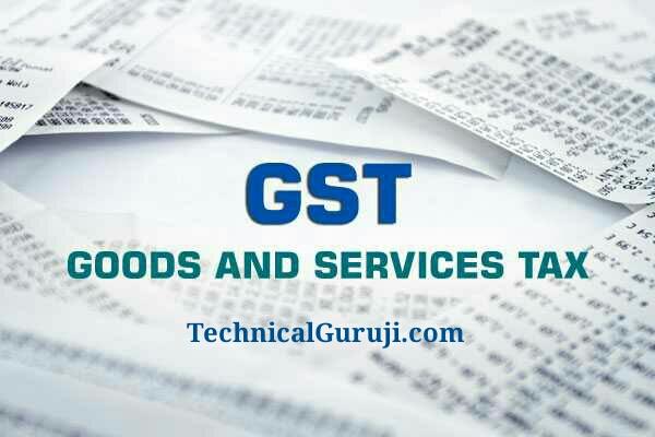 GST India New Tax Service