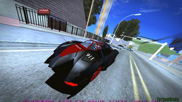 Lamborghini Egoista Concept Car Police Edition DFF only GTAAM Blogspot rizky aldi game