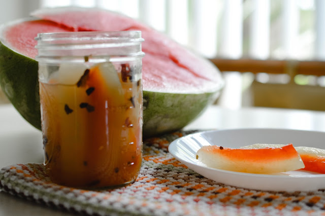 Watermelon Rind Pickle Recipe - @raisingwildfolk