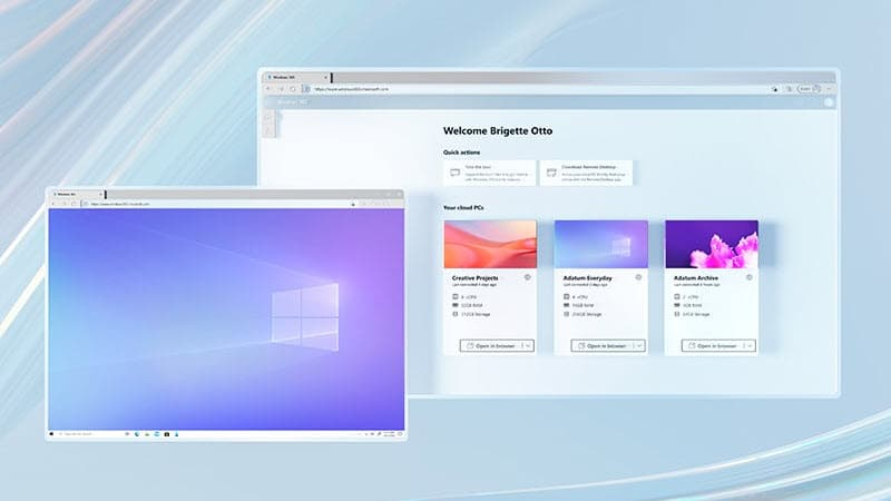 Windows 365 is Microsoft's new cloud service; available for business, enterprises