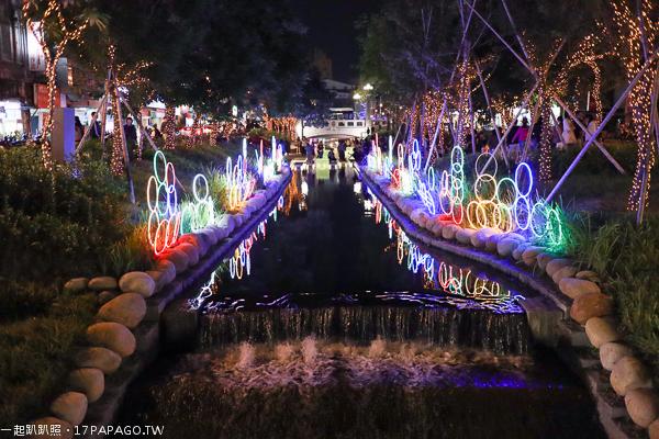 2018台中聖誕節活動,綠川水岸光景藝術展
