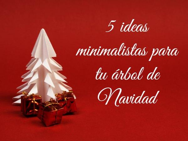 5 Ideas De Arboles De Navidad De Diseno Minimalista Decoracion - Ideas-arboles-de-navidad