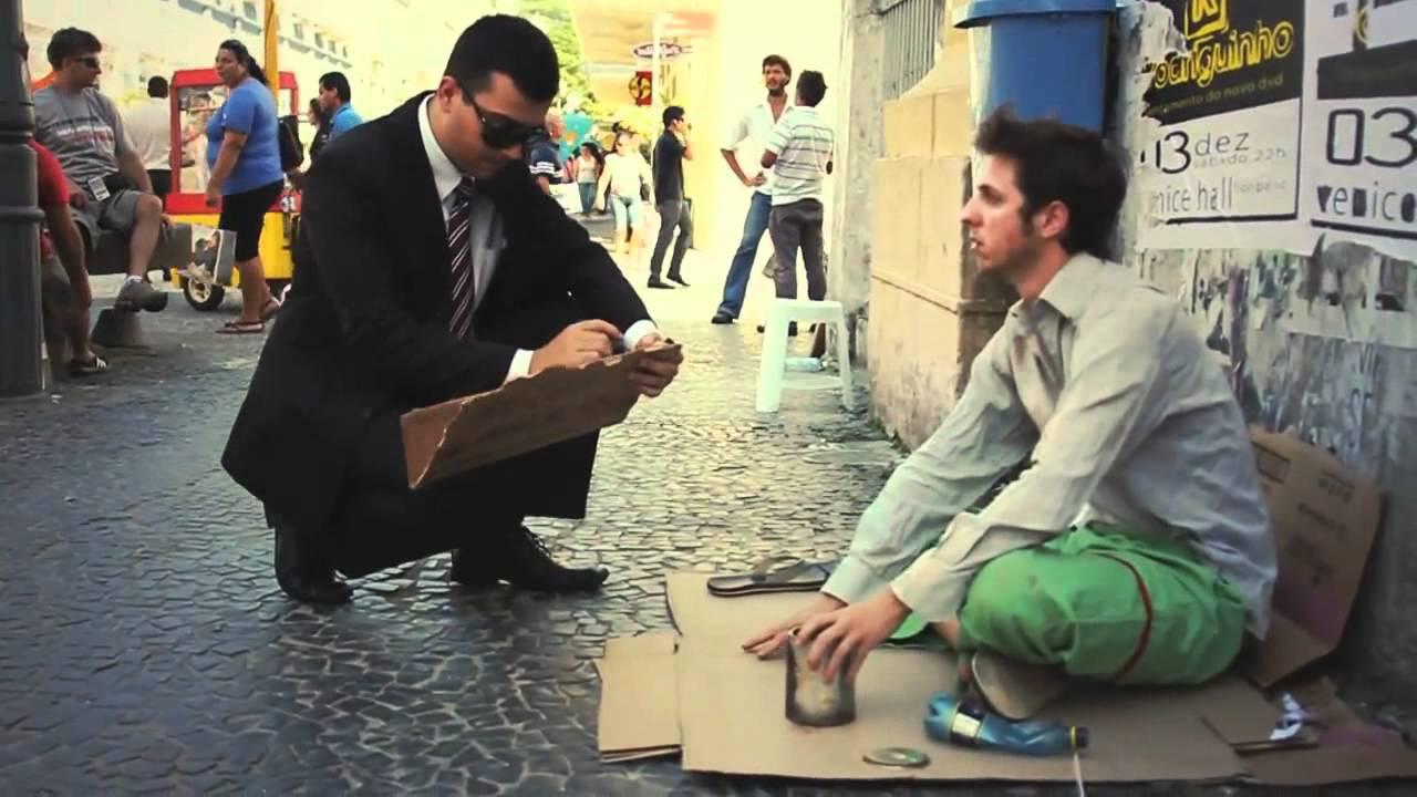 Cena de O Cego e o publicitário