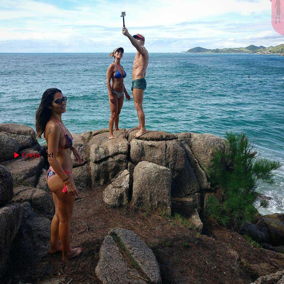 Bruna Abdullah in Spicy Revealing Bikini Vacation Exclusive New Pics