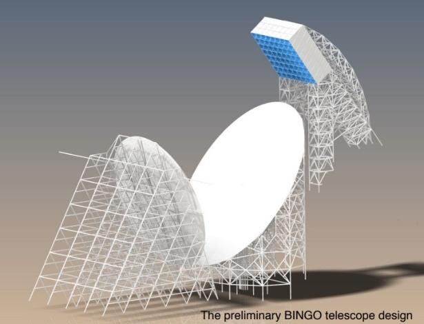 Brasil construirá radiotelescópio no Vale do Piancó para conhecer Universo jovem