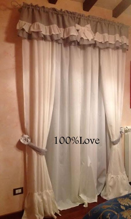 100 love tende shabby - Tende camera da letto shabby ...
