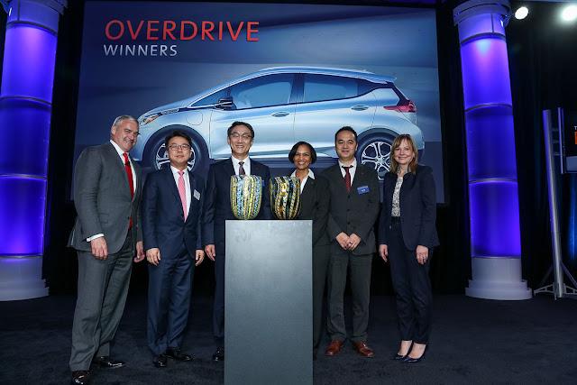 Empresas LG honradas con  premio GM's 2015 Overdrive