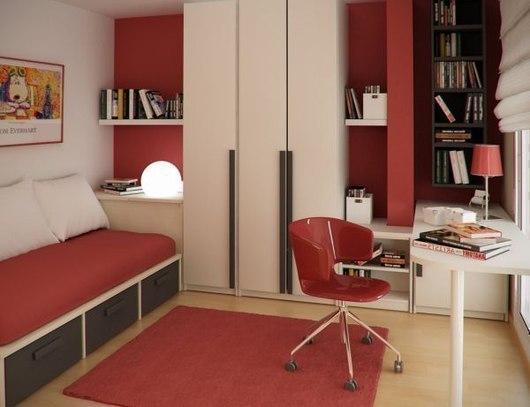 Dormitorios Juveniles Pequenos Dormitorios Con Estilo - Dormitorio-juvenil-pequeo