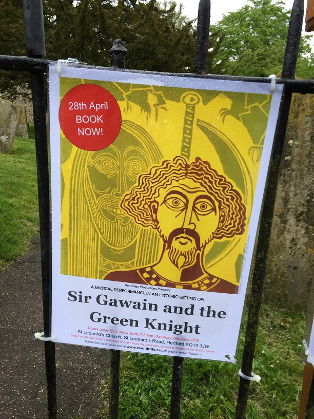 setting of sir gawain and the green knight