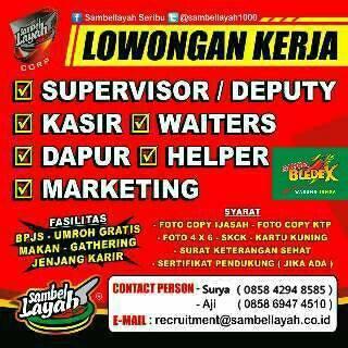 Loker Sambel Layah | Loker Satria